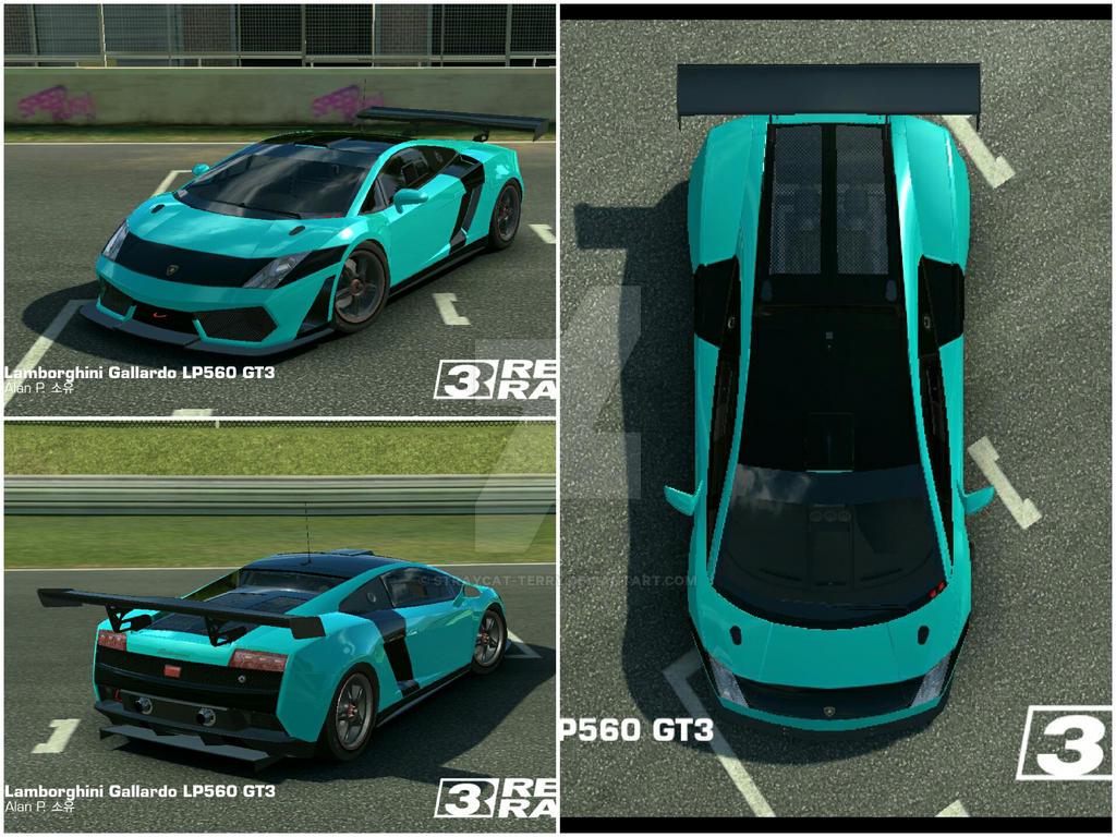 Lamborghini GaIIardo LP560 GT3 Custom Skin Teal By AlanDPark ...