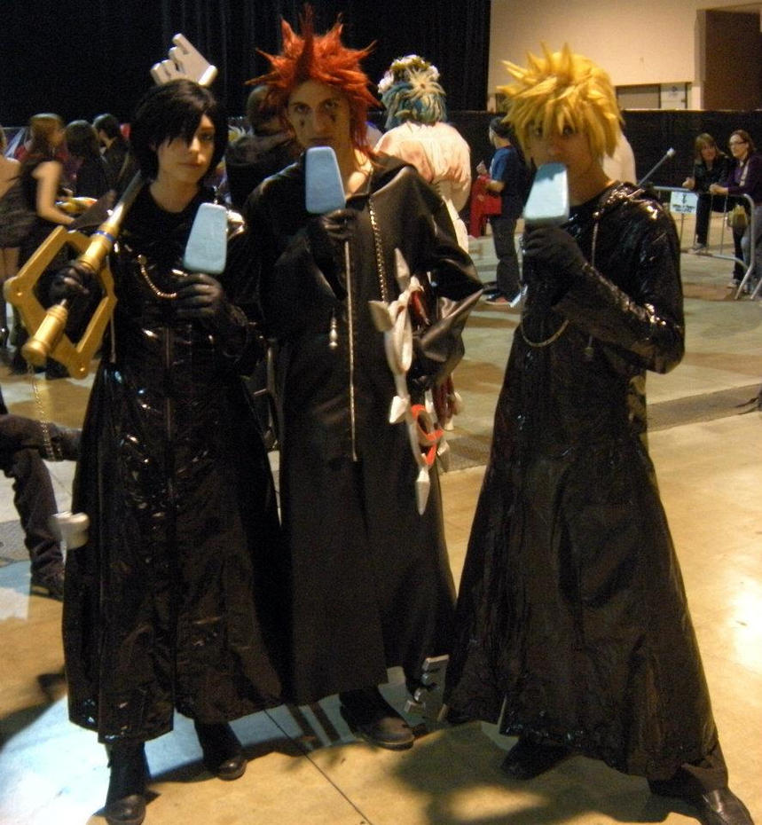 Xion And Roxas And Axel Roxas 39 Xion 39 Axel by