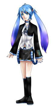 New design style KEI: Uta Hitsune! (UTAU)