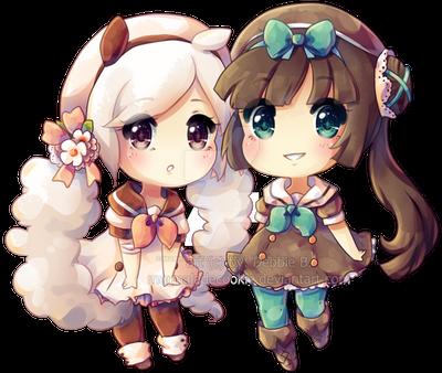 Hana and Ruri by Marmaladecookie