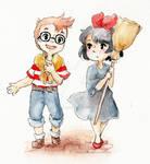 Kiki and Tombo