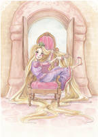 tangled by Marmaladecookie