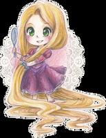 Rapunzel by Marmaladecookie
