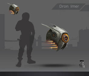 Concept Dron imer by Lakmys