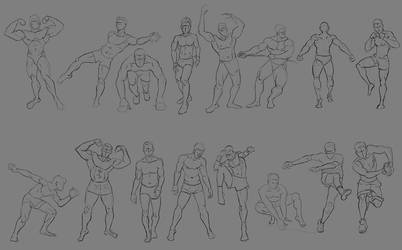 Sketch pose_002 by Lakmys