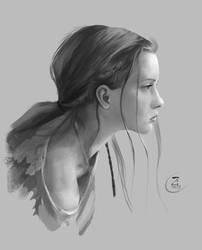 Face Studies 04 by Lakmys