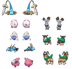 Pokemon XY Sprite Collection
