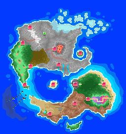 Zegroh Region Map