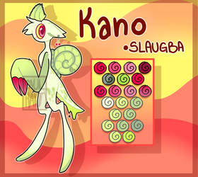Kano - reference sheet