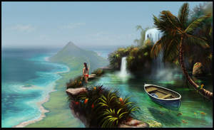Your Island Paradise by zimfin