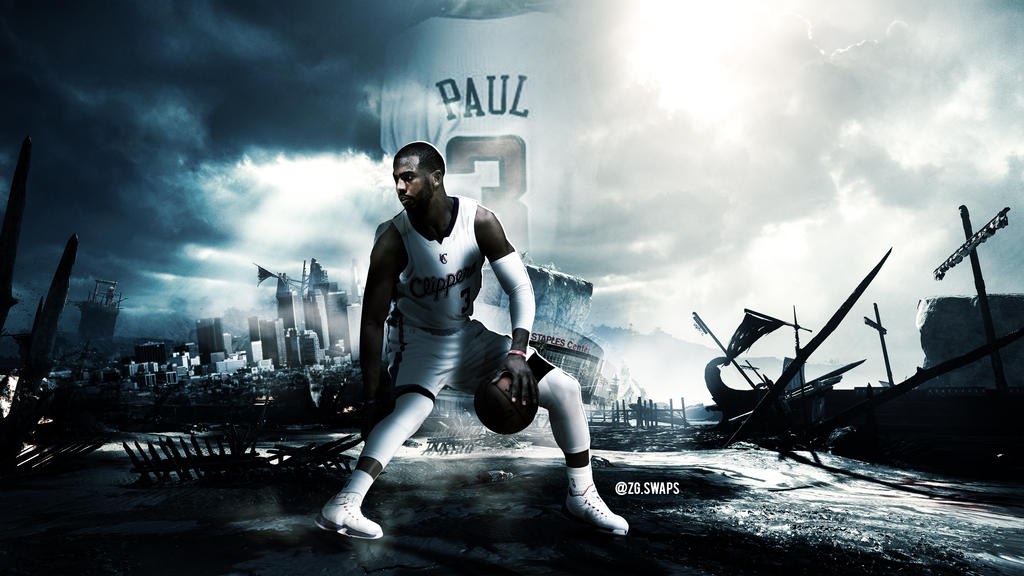 chris paul wallpaper clippers hd 2015 by zgartwork on