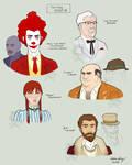 Fast Food Mafia by silentsketcher