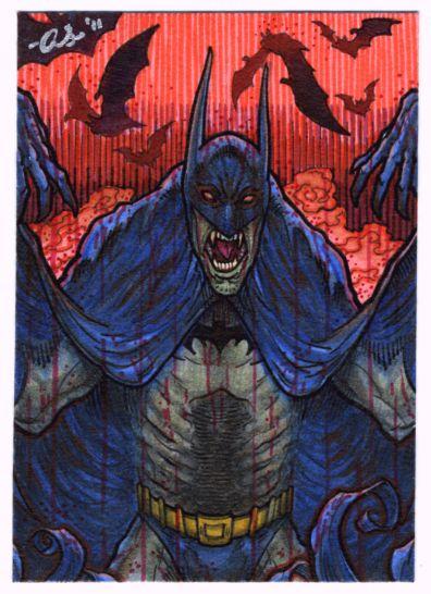 Batman -Crimson Mist- PSC by silentsketcher