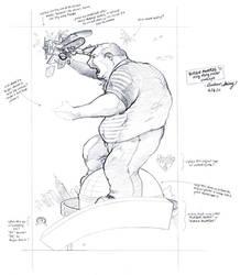 Burgie Awards '11 WIP sketch by silentsketcher