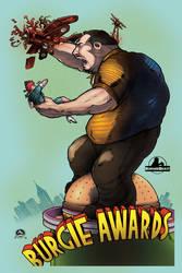 Burgie Awards '11 poster by silentsketcher
