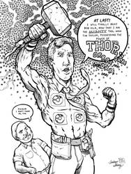 The Mighty Tool Man Taylor by silentsketcher