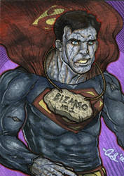 Bizarro -Superman- PSC by silentsketcher