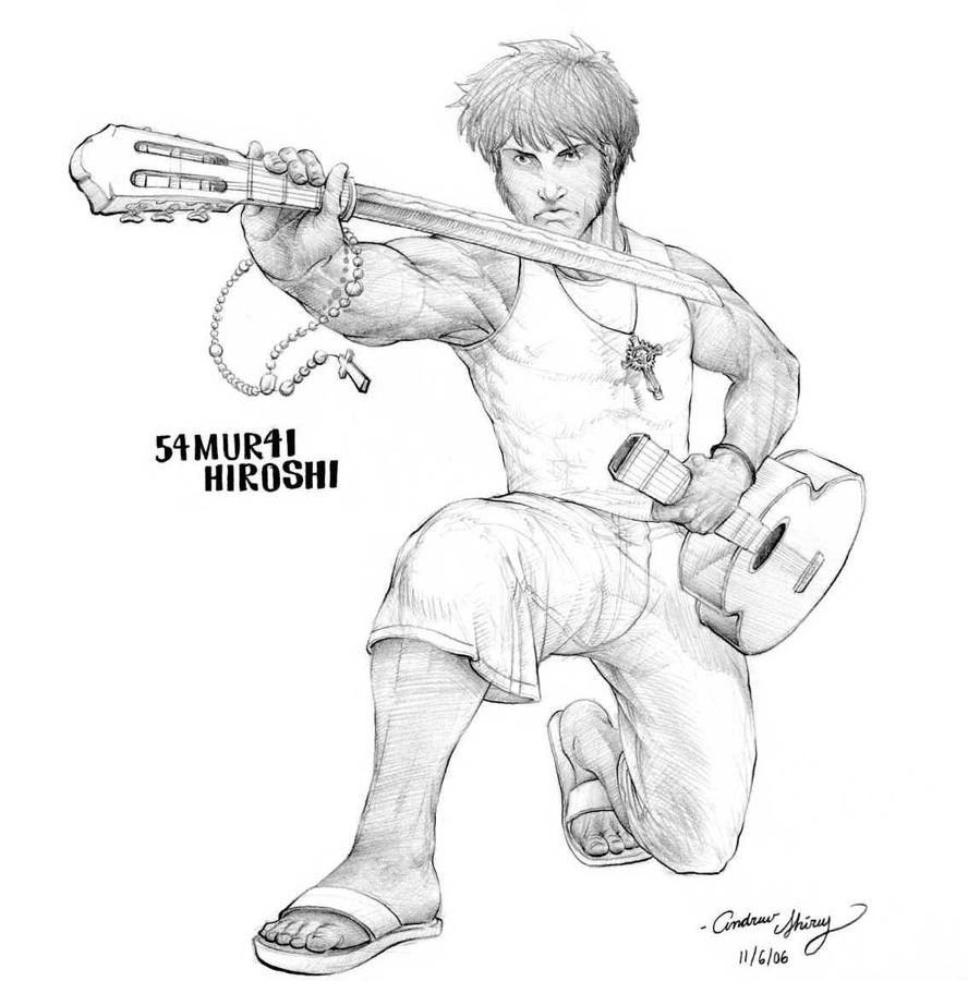 Meccil's 54MUR41 Hiroshi by silentsketcher