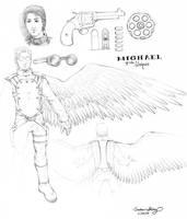 Uniques' Michael by silentsketcher