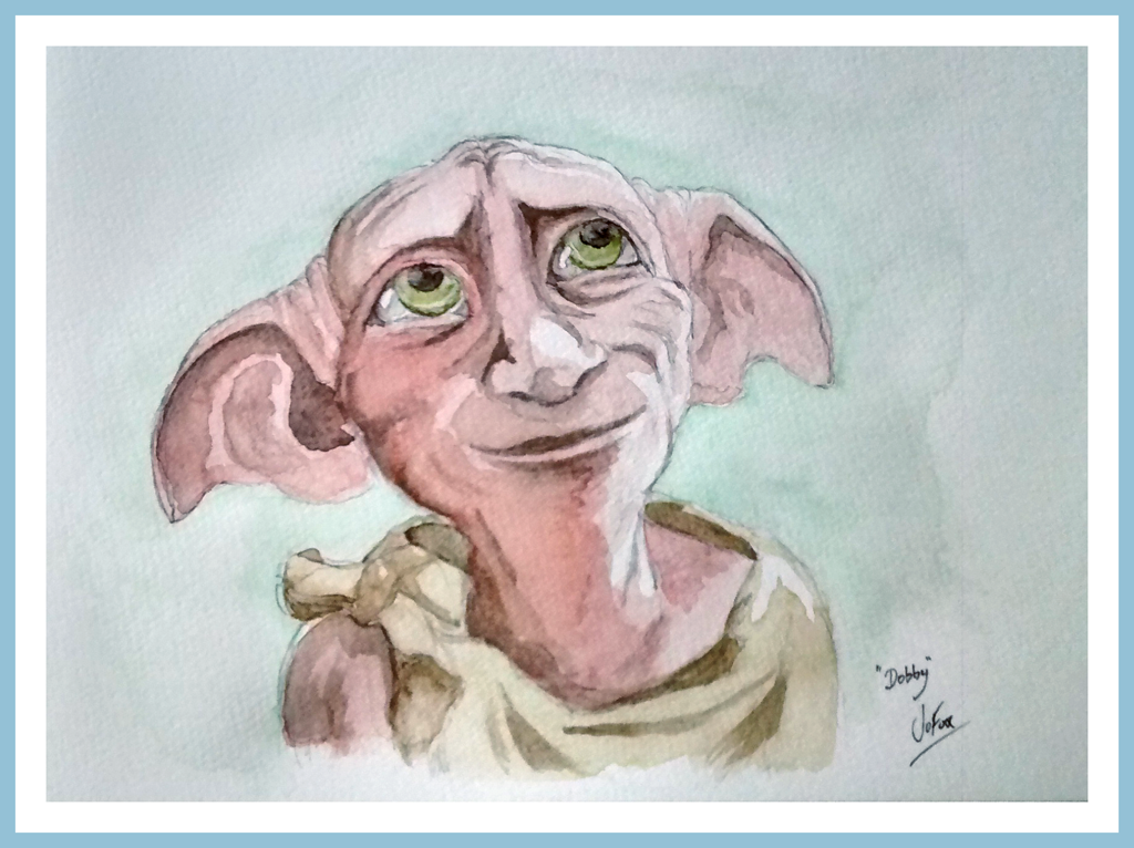 Dobby The House Elf   Watercolour By Jofox2108 ...