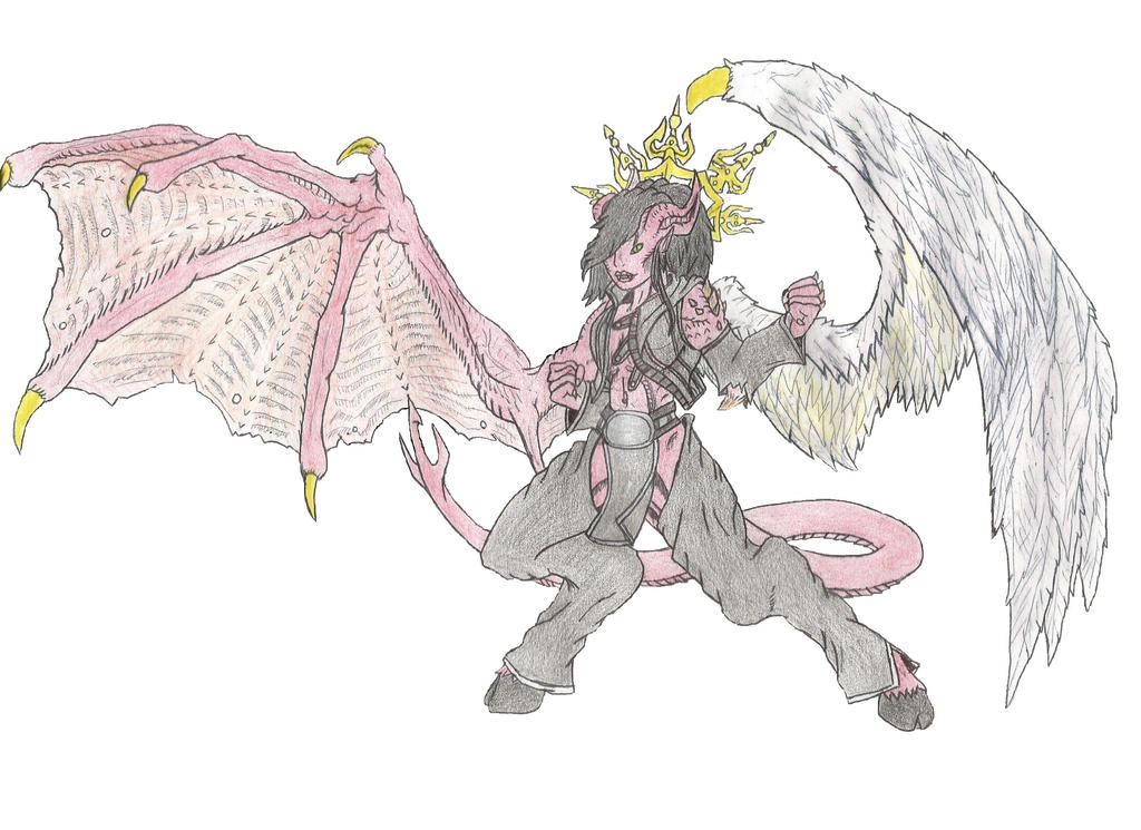 Demon Angel Hybrid By Beastrider9