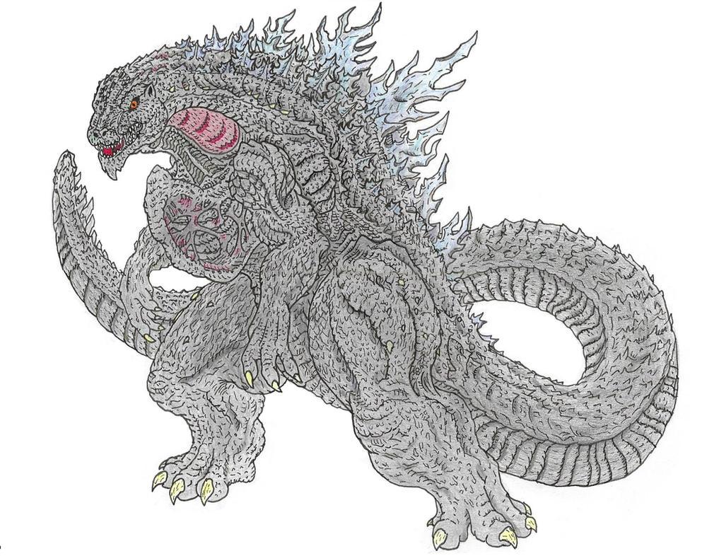 Composite Godzilla by Beastrider9