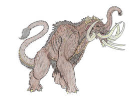 Monsterverse Mammoth by Beastrider9