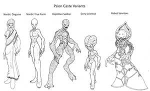 Wyrdverse Extraterrestrial Species: Psions