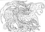 Commission- Tsar Ghidorah