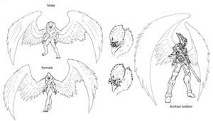 Wyrdverse Extraterrestrial Species: Archons