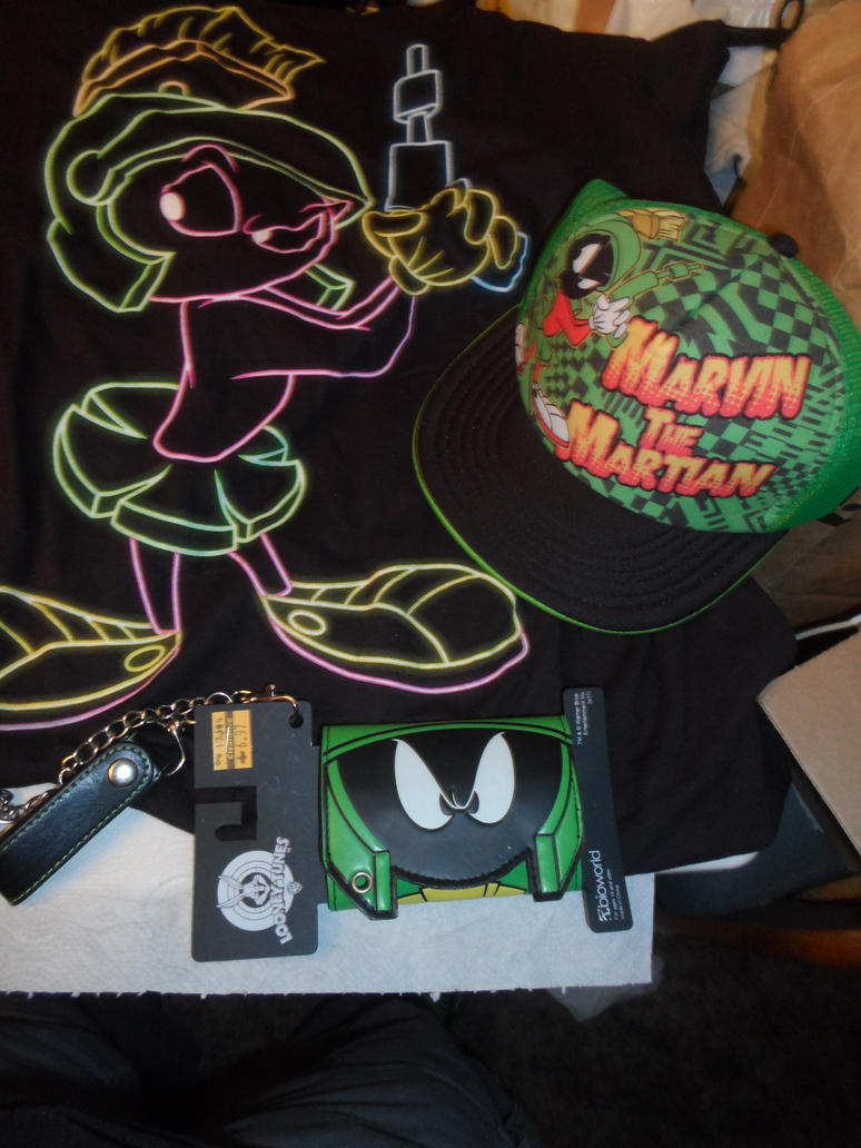Marvin Martian Stuff by comicanimefan