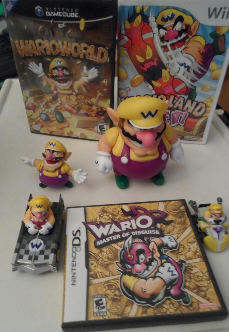 my Wario stuff by comicanimefan