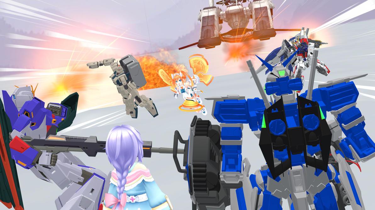 SFM - Fighting beetwen allies - by TobiaArronax