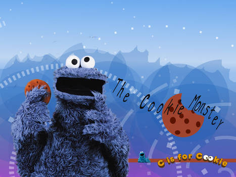 cookie monster c is for cookie