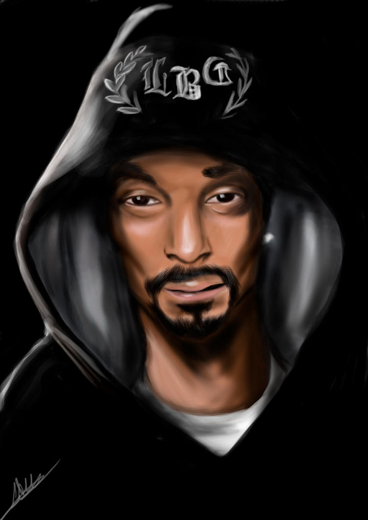 Snoop Dogg by caiothedrawer