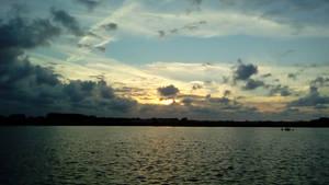 Sunset at Vlaardingen