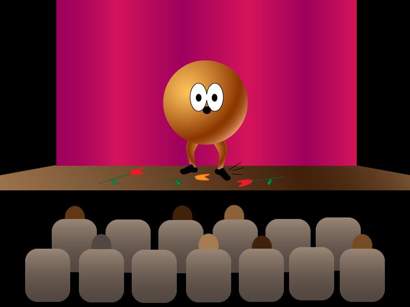 Pluto tapdancing
