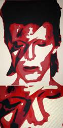 David Bowie by IansUnknownArt