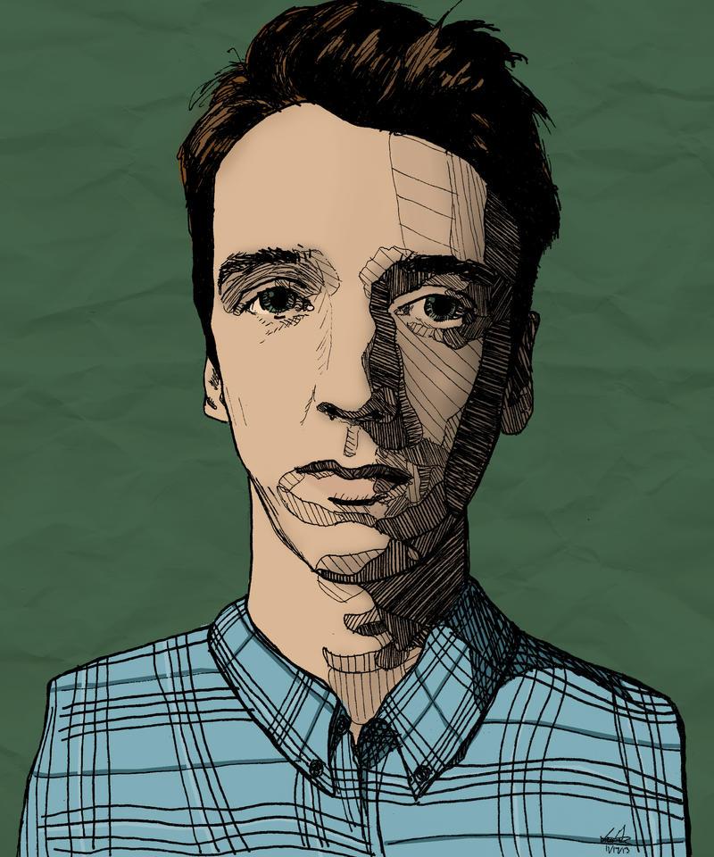Self Portrait by IansUnknownArt