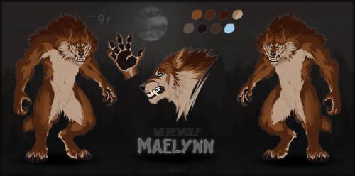 Maelynn | Werewolf | Reference Sheet 2021