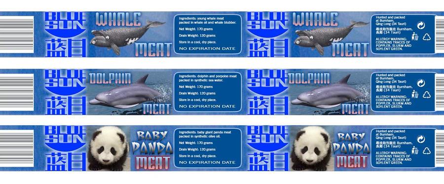 Tuna fish can label - photo#10