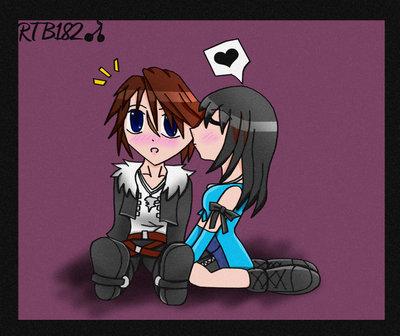 Squall And Rinoa Kiss Squall x Rinoa Club a Kiss
