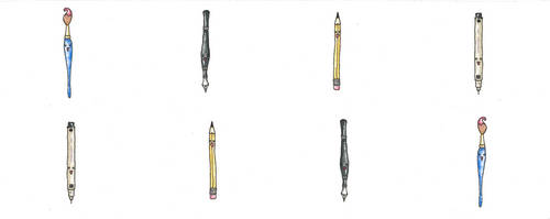 Pens and Pencils and Things! by LernoVictoria