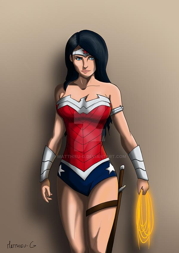 Wonder Woman - new 52 by Matthieu-G