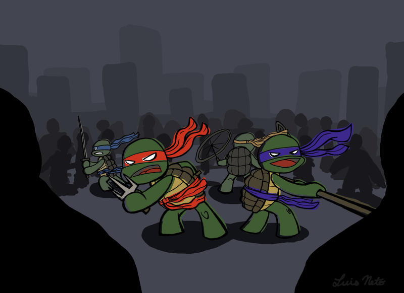 UPA TMNT by Spidersaiyan