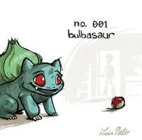 Bulbasaur Warmup by Spidersaiyan
