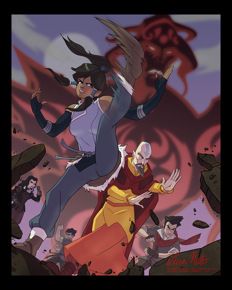 Legend of Korra by Spidersaiyan