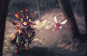 Skull Kid by Spidersaiyan