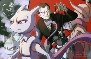 Mewtwo by Spidersaiyan