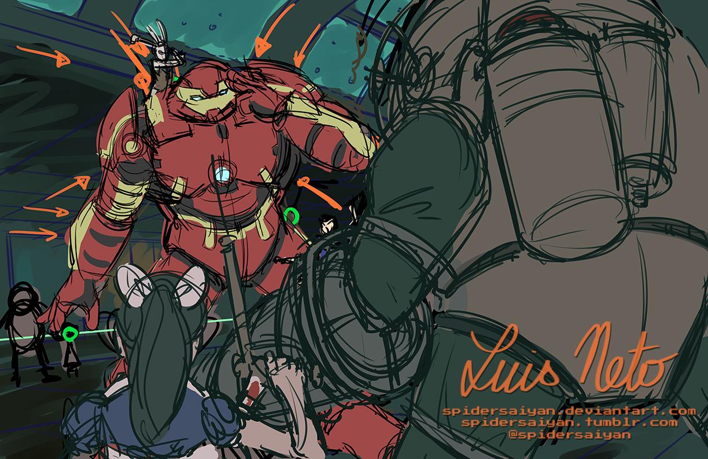 Pubg By Sodano On Deviantart: Hulkbuster/Bioshock WIP By Spidersaiyan On DeviantArt